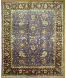 RugStudio presents Kalaty Oak 321897 Purple Hand-Knotted, Good Quality Area Rug
