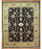 RugStudio presents Kalaty Oak 322740 Black Gold Hand-Knotted, Good Quality Area Rug