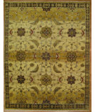 RugStudio presents Kalaty Oak 322915 Gold Beige Hand-Knotted, Good Quality Area Rug