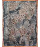 RugStudio presents Kalaty Oak 323447 Medium Blue Hand-Knotted, Good Quality Area Rug