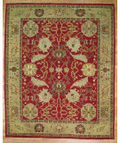 RugStudio presents Kalaty Oak 326770 Red Hand-Knotted, Good Quality Area Rug