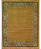 RugStudio presents Kalaty Oak 326774 Light Brown Hand-Knotted, Good Quality Area Rug