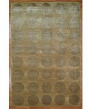 RugStudio presents Kalaty Oak 326895 Light Gold Hand-Knotted, Good Quality Area Rug