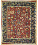 RugStudio presents Kalaty Oak 329025 Burned Red Hand-Knotted, Good Quality Area Rug