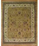 RugStudio presents Kalaty Oak 329028 Gold Hand-Knotted, Good Quality Area Rug