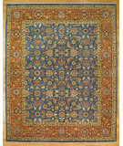 RugStudio presents Kalaty Oak 329042 Blue Hand-Knotted, Good Quality Area Rug