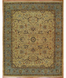 RugStudio presents Kalaty Oak 333614 Ivory Hand-Knotted, Good Quality Area Rug