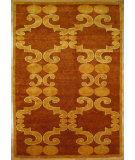 RugStudio presents Kalaty Oak 336595 Rust Hand-Knotted, Good Quality Area Rug