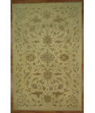RugStudio presents Kalaty Oak 347965 Ivory Hand-Knotted, Good Quality Area Rug