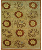 RugStudio presents Kalaty Oak 347987 Gold Hand-Knotted, Good Quality Area Rug