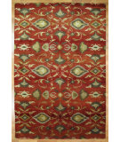 RugStudio presents Kalaty Oak 348009 Rust Hand-Knotted, Good Quality Area Rug