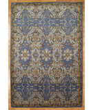 RugStudio presents Kalaty Oak 348011 Medium Blue Hand-Knotted, Good Quality Area Rug