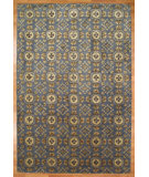 RugStudio presents Kalaty Oak 348012 Medium Blue Hand-Knotted, Good Quality Area Rug