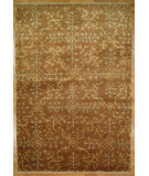 RugStudio presents Kalaty Oak 350053 Rust Ivory Hand-Knotted, Good Quality Area Rug
