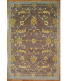 RugStudio presents Kalaty Oak 352367 Chocolate Hand-Knotted, Good Quality Area Rug