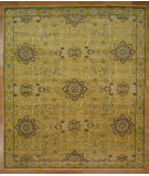 RugStudio presents Kalaty Oak 352368 Gold Hand-Knotted, Good Quality Area Rug
