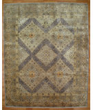 RugStudio presents Kalaty Oak 355482 Ivory PInk Hand-Knotted, Good Quality Area Rug