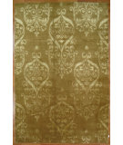 RugStudio presents Kalaty Oak 356604 Gold Hand-Knotted, Good Quality Area Rug