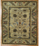 RugStudio presents Kalaty Oak 357383 Camel Hand-Knotted, Good Quality Area Rug