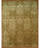 RugStudio presents Kalaty Oak 361578 Gold Hand-Knotted, Good Quality Area Rug