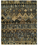 RugStudio presents Famous Maker Artisan 100052 Grey Earth Hand-Knotted, Best Quality Area Rug
