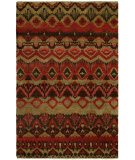 RugStudio presents Famous Maker Artisan 100054 Rusty Red Hand-Knotted, Best Quality Area Rug