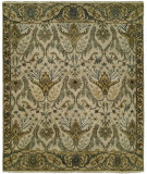 RugStudio presents Famous Maker Artisan 100060 Creamy White Hand-Knotted, Best Quality Area Rug