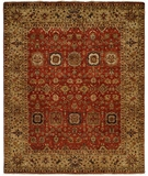 RugStudio presents Kalaty Bashir Ba-589 Rust-Camel Hand-Knotted, Good Quality Area Rug