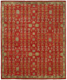 RugStudio presents Famous Maker Barton 100792 Pimento Hand-Knotted, Best Quality Area Rug