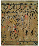 RugStudio presents Famous Maker Barton 100796 Dijon Hand-Knotted, Best Quality Area Rug