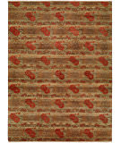 RugStudio presents Famous Maker Carolton 100885 Multi Hand-Knotted, Best Quality Area Rug
