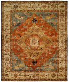 RugStudio presents Famous Maker Carolton 100889 Sundance Heriz Hand-Knotted, Best Quality Area Rug