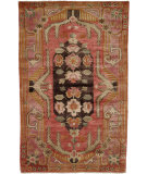 RugStudio presents Famous Maker Carolton 100890 Red Hand-Knotted, Best Quality Area Rug
