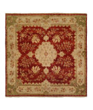 RugStudio presents Famous Maker Carolton 100891 Rose Chenille Hand-Knotted, Best Quality Area Rug