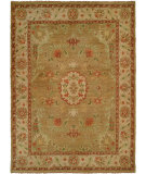 RugStudio presents Famous Maker Carolton 100896 Light Gold Hand-Knotted, Best Quality Area Rug