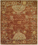 RugStudio presents Famous Maker Carolton 100904 Rosewood Reverie Hand-Knotted, Best Quality Area Rug