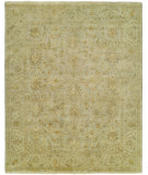 RugStudio presents Famous Maker Delfino 100101 Mineral Green Hand-Knotted, Best Quality Area Rug