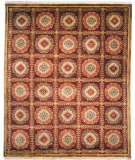 RugStudio presents Kalaty Chantal Fc-641 Plum Hand-Knotted, Good Quality Area Rug
