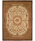 RugStudio presents Kalaty Florence Fr-621 Ivory Hand-Knotted, Better Quality Area Rug