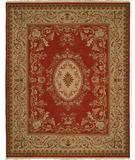 RugStudio presents Kalaty Florence Fr-627 Rust Hand-Knotted, Better Quality Area Rug