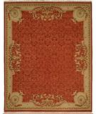 RugStudio presents Kalaty Florence Fr-628 Rust Hand-Knotted, Better Quality Area Rug