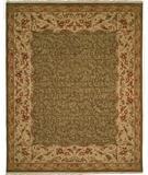 RugStudio presents Kalaty Florence Fr-631 Green Hand-Knotted, Better Quality Area Rug