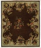 RugStudio presents Kalaty Florence Fr-633 Brown Hand-Knotted, Better Quality Area Rug