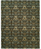 RugStudio presents Famous Maker Grimani 100682 Smokey Brown Hand-Knotted, Best Quality Area Rug