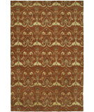 RugStudio presents Famous Maker Grimani 100686 Terracotta Hand-Knotted, Best Quality Area Rug