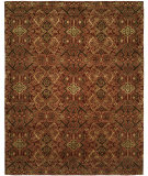 RugStudio presents Famous Maker Grimani 100688 Spice Hand-Knotted, Best Quality Area Rug
