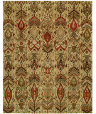 RugStudio presents Famous Maker Ikat 100425 Multi Hand-Tufted, Good Quality Area Rug