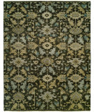 RugStudio presents Famous Maker Heria 100087 Graphite Hand-Knotted, Best Quality Area Rug