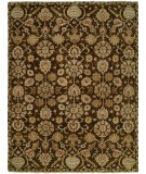RugStudio presents Famous Maker Heria 100088 Cocoa Hand-Knotted, Best Quality Area Rug