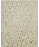 RugStudio presents Famous Maker Insight 100947 Cream Hand-Knotted, Best Quality Area Rug